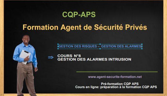 système d'alarme anti-intrusion: gestion