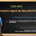 ORGANISATION DE L'INTERVENTION INCENDIE