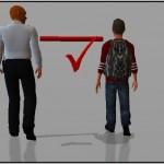 Distance de sécurité entre un agent et un individu – masterclass