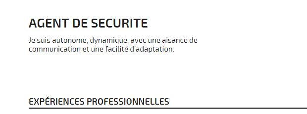 exemples de phrases de motivation  offre d u0026 39 emploi agent de s u00e9curit u00e9